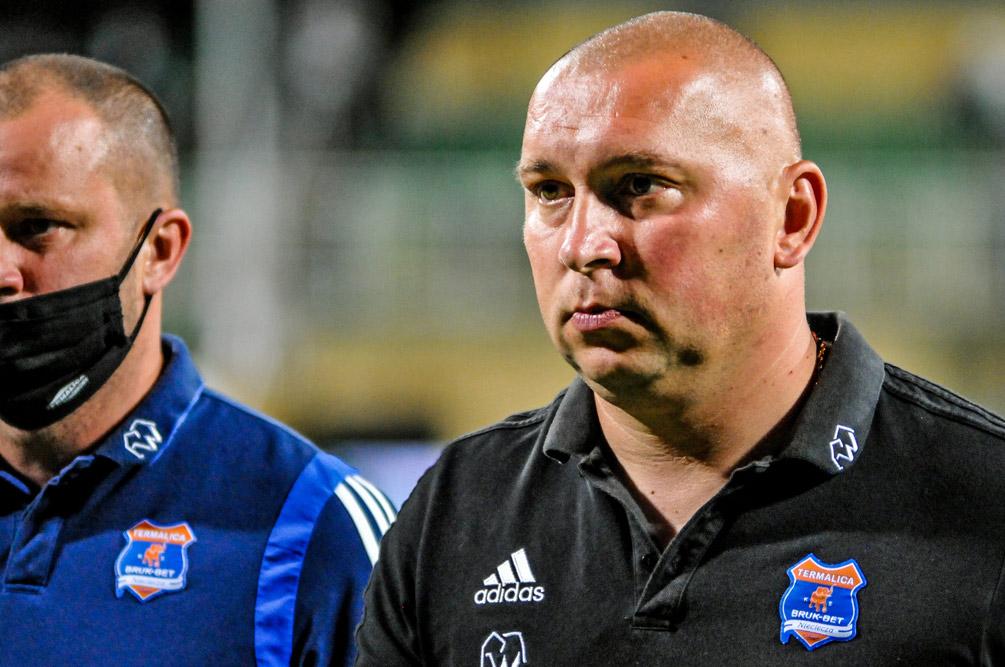 Warta Poznań - Bruk-Bet Termalica Nieciecza 1:0. Trener gości, Mariusz Lewandowski