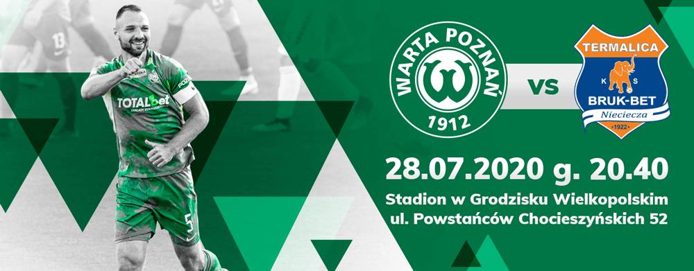 Sprzedaż biletów na mecz barażowy Warta Poznań - Bruk-Bet Termalica Nieciecza