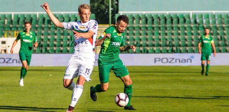 Warta Poznań - GKS Tychy 2:2. Mariusz Rybicki