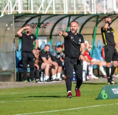 Warta Poznań - GKS Tychy 2:2. Trener Piotr Tworek