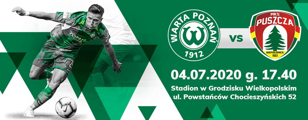 Bilet na mecz Warta Poznań - Puszcza Niepołomice