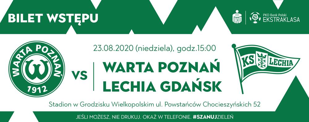 Kup bilet na mecz Warta Poznań - Lechia Gdańsk