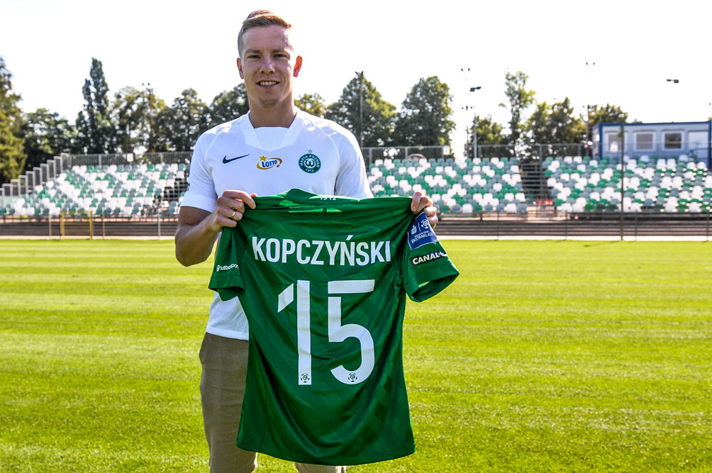 Michał Kopczyński podpisał kontrakt z Wartą Poznań