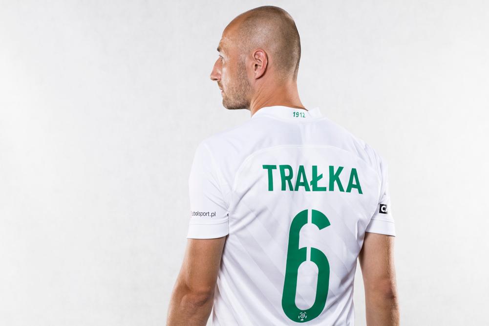Nike Dri-FIT Challenge III - nowe koszulki piłkarzy Warty Poznań na sezon 2020/21 PKO Ekstraklasy. Łukasz Trałka