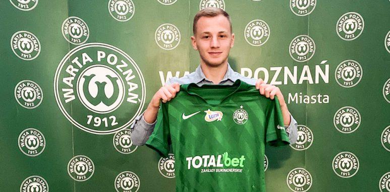 Mateusz Spychała piłkarzem Warty Poznań