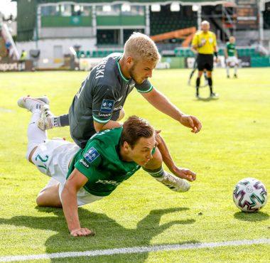 Warta Poznań - Lechia Gdańsk 0:1. Mateusz Kupczak