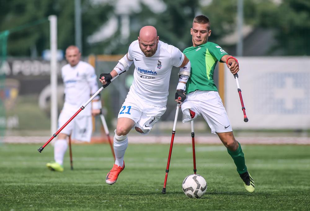 I turniej AMP Futbol Ekstraklasy. Warta Poznań - Husaria Kraków. Kacper Hała