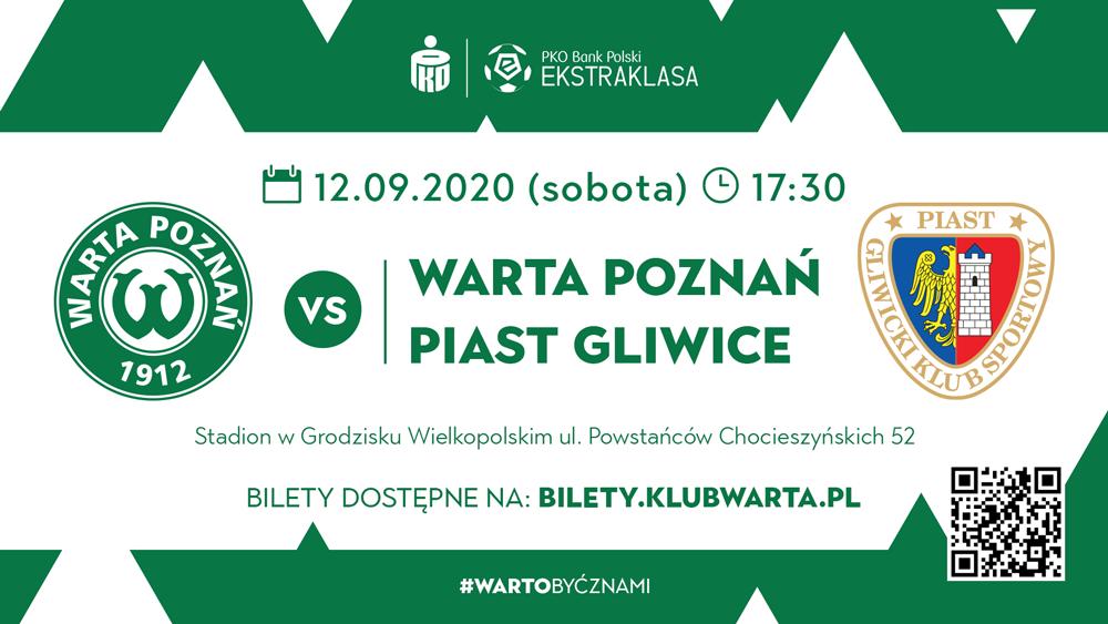 Bilet na mecz Warta Poznań - Piast Gliwice