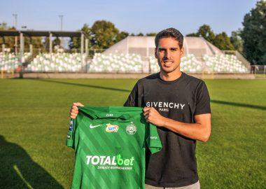 Mario Rodriguez piłkarzem Warty Poznań