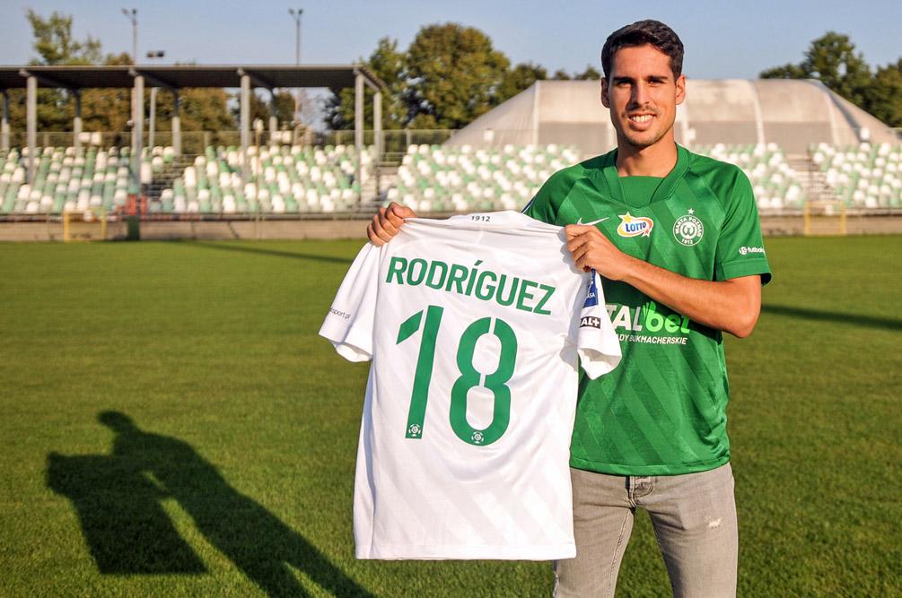 Mario Rodriguez będzie grał z numerem 18 w Warcie Poznań