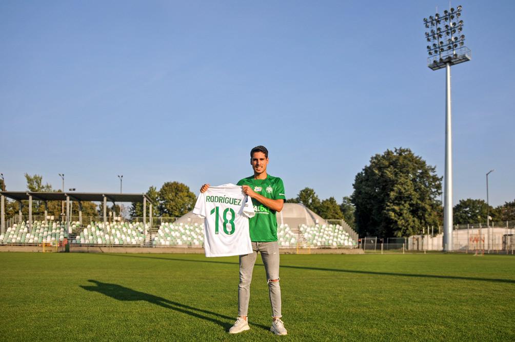 Mario Rodriguez podpisał kontrakt z Wartą Poznań