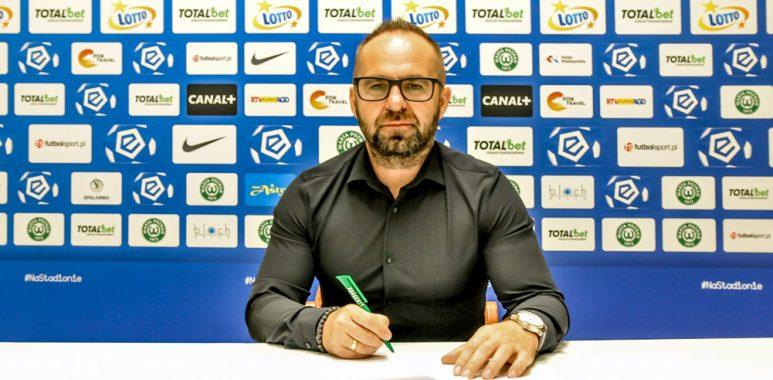 Nowy kontrakt trenera Piotra Tworka z Wartą Poznań