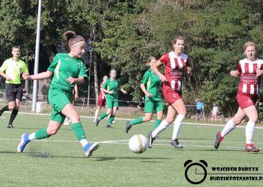 Warta Poznań - Ostrovia II Ostrów Wlkp. w IV lidze kobiet 1:1