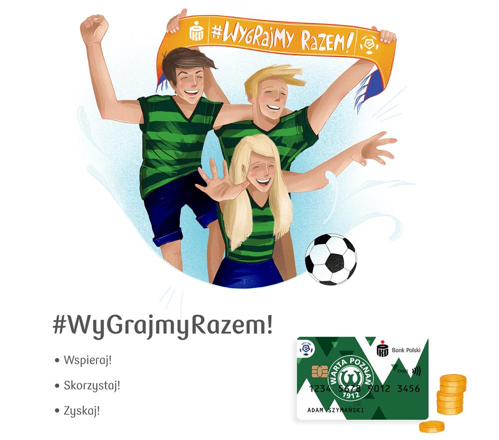 WygrajmyRazem - program partnerski Warty Poznań i PKO BP