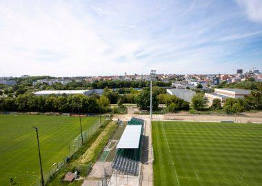 Stadion Warty Poznań, Strefa Ogródek przy Drodze Dębińskiej 12; fot. Adam Ciereszko