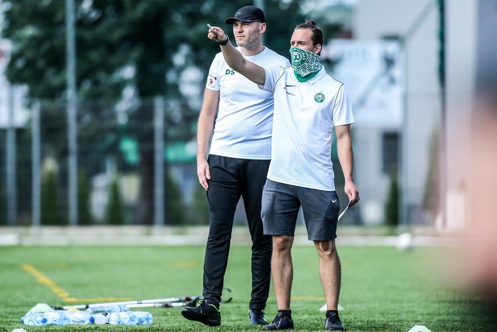 Trener amp futbol Warty Poznań Dariusz Sylwestrzak