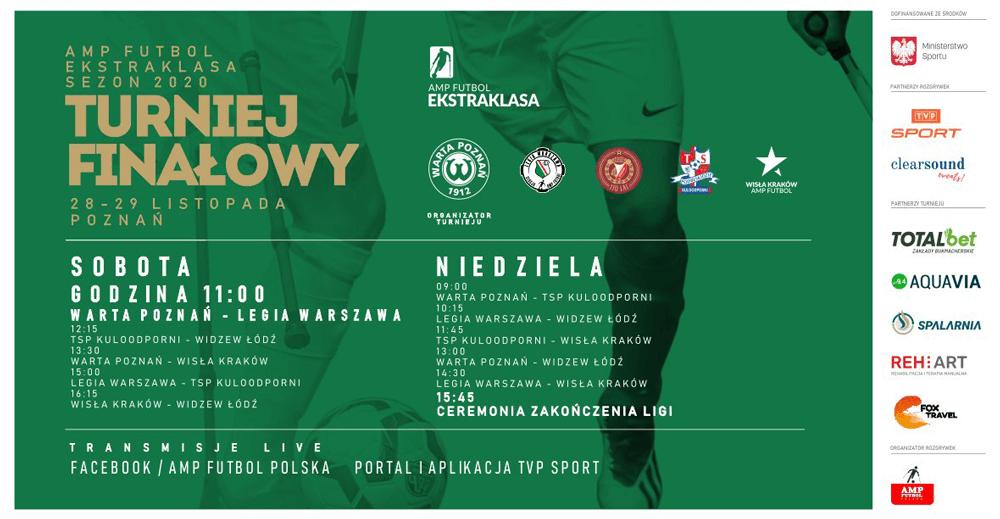 IV turniej Amp Futbol Ekstraklasy w Poznaniu - terminarz, mecze
