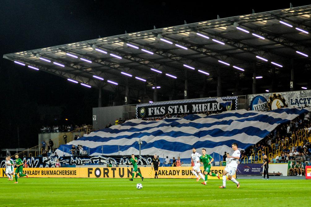 Mecz Stal Mielec - Warta Poznań