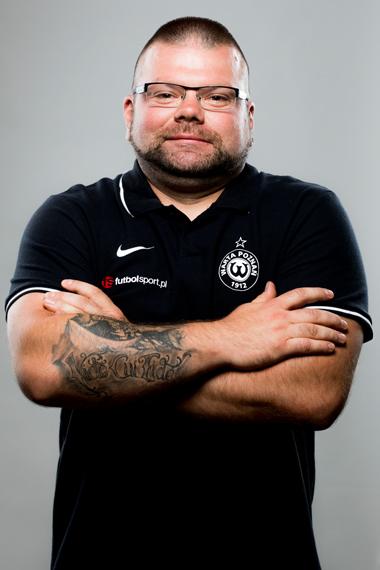 Przemysław Przysiecki, kit manager Warty Poznań