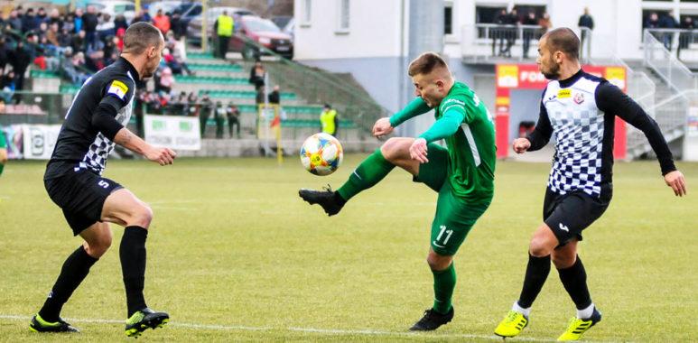 Byutovia Bytów - Warta Poznań 0:0. Michał Jakóbowski