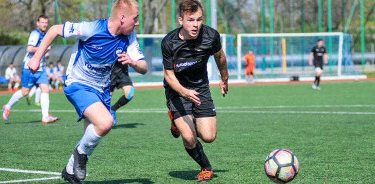 Warta Poznań U-19 w meczu z Bałtykiem Koszalin