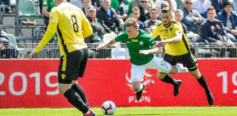 Warta Poznań - GKS Katowice 0:1. Grzegorz Szymusik