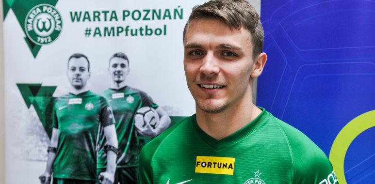 Amp futbol w Warcie Poznań. Adrian Laskowski
