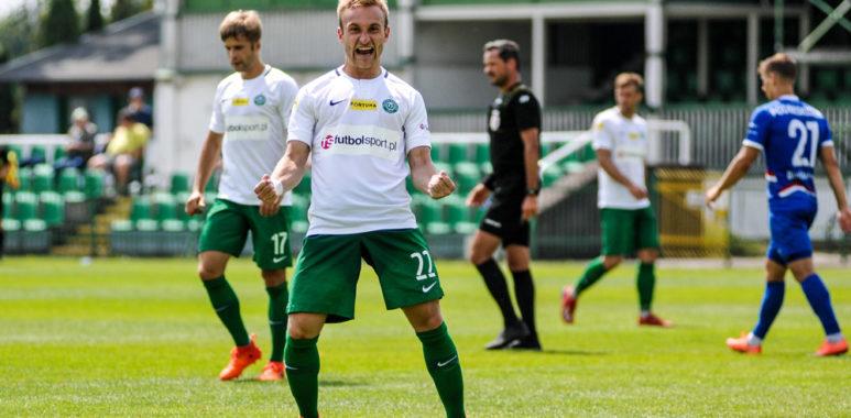 Warta Poznań - Podbeskidzie Bielsko-Biała 1:0 w sparingu. Robert Janicki