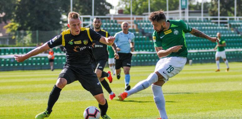 Warta Poznań - GKS Jastrzębie 1:1. Mariusz Rybicki