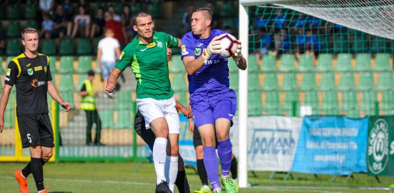 Warta Poznań - GKS Jastrzębie 1:1. Tomasz Boczek i Grzegorz Drazik