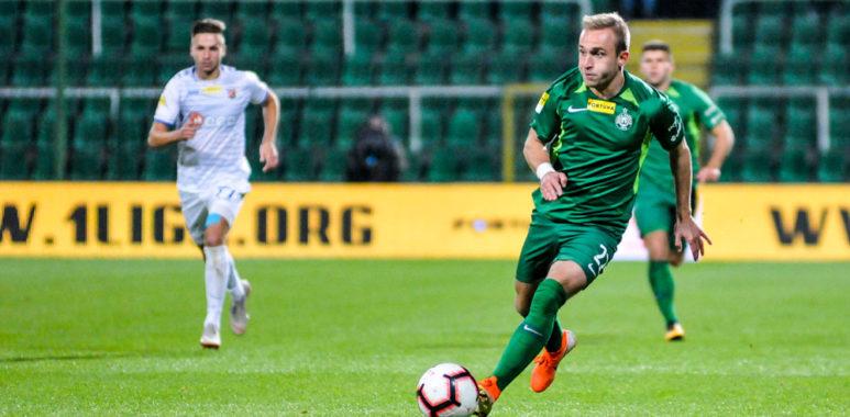 Warta Poznań - Odra Opole 3:0. Robert Janicki