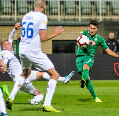 Warta Poznań - Odra Opole 3:0. Jakub Kiełb