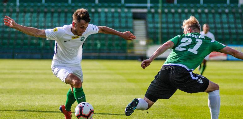 Warta Poznań - GKS Bełchatów 1:0. Karol Gardzielewicz