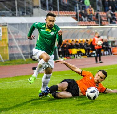Chrobry Głogów - Warta Poznań 0:0. Mariusz Rybicki