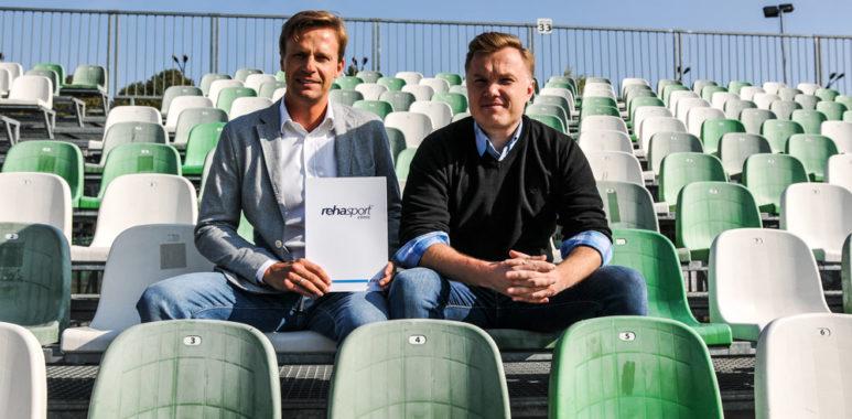 Jakub Puchalski, menedżer sportu w Rehasport Clinic i dyrektor sportowy Warty Poznań S.A. Robert Graf