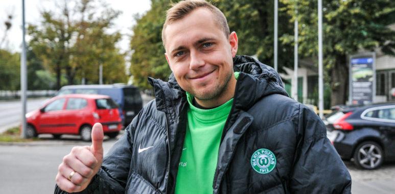 Adrian Lis, bramkarz Warty Poznań