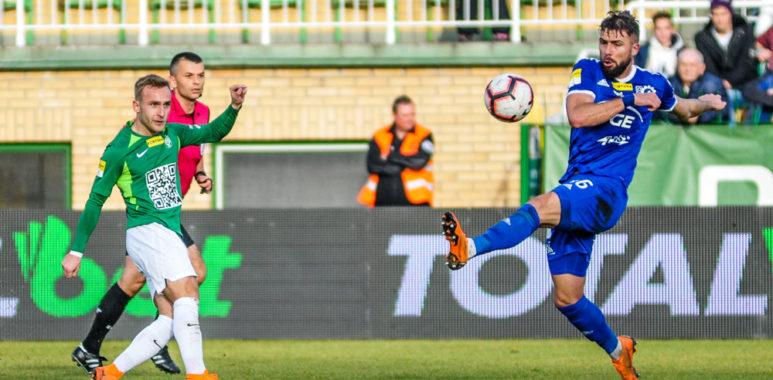 Warta Poznań - Stal Mielec 0:2. Robert Janicki