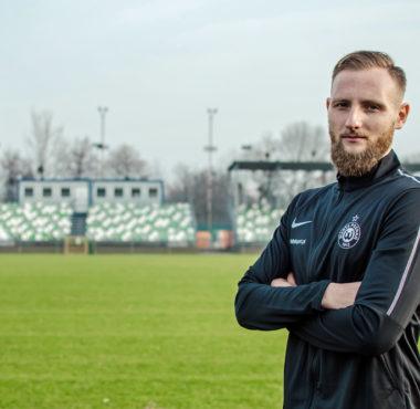 Patryk Czubak, nowy trener analityk Warty Poznań