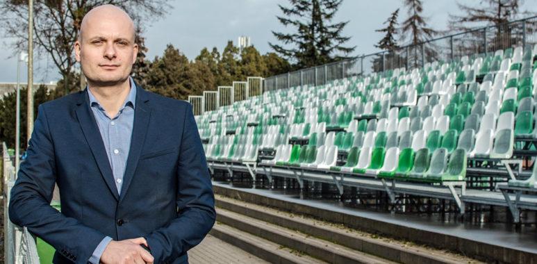 Bartosz Wolny, członek Rady Nadzorczej Warty Poznań
