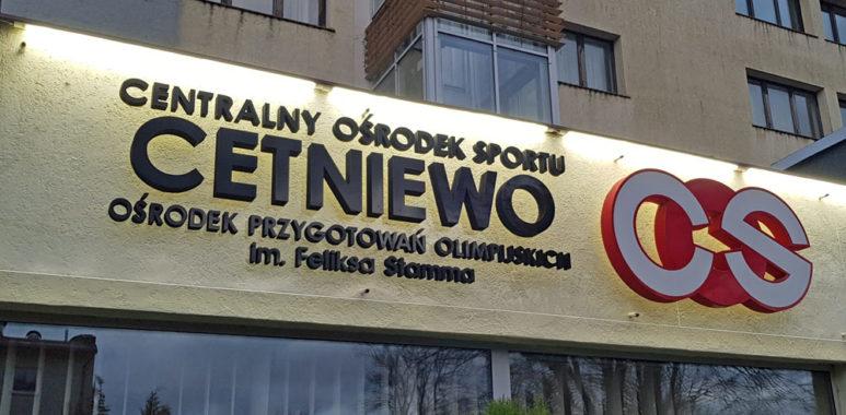 Centralny Ośrodek Sportu im. Feliksa Stamma w Cetniewie. Obóz Warty Poznań