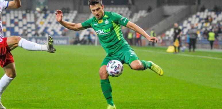 Podbeskidzie Bielsko-Biała - Warta Poznań 2:0. Jakub Kiełb