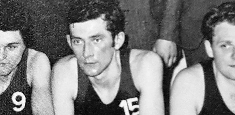 śp. Andrzej Kaliszan, były koszykarz i działacz Warty Poznań