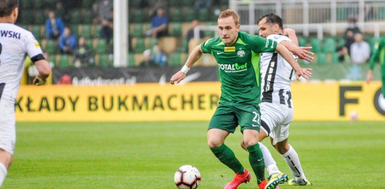 Warta Poznań - Sandecja Nowy Sącz 2:0. Robert Janicki