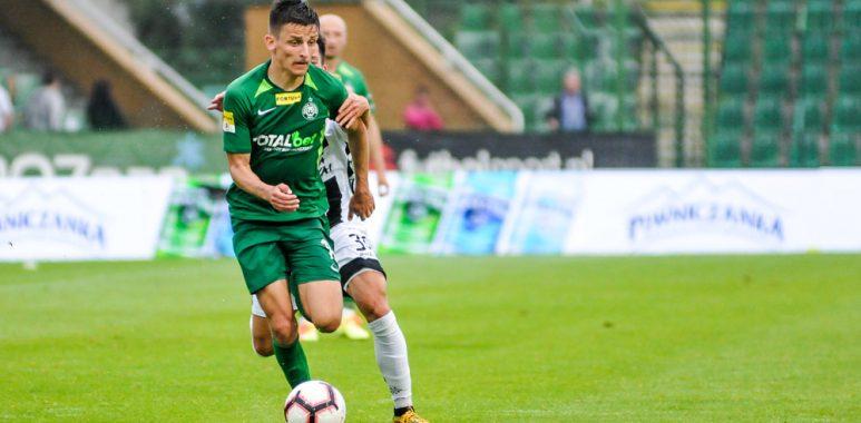 Warta Poznań - Sandecja Nowy Sącz 2:0. Jakub Apolinarski