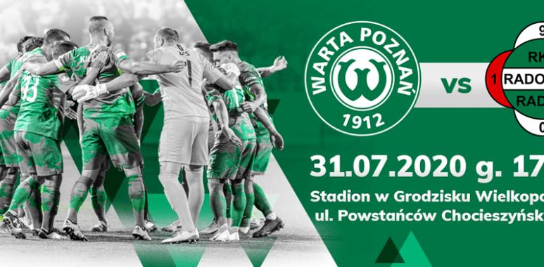 Sprzedaż biletów na mecz Warta Poznań - Radomiak Radom