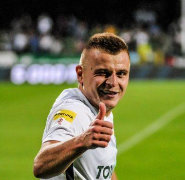 Warta Poznań - Bruk-Bet Termalica Nieciecza 1:0. Michał Jakóbowski