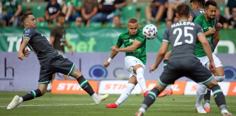 Warta Poznań - Lechia Gdańsk 0:1. Robert Janicki