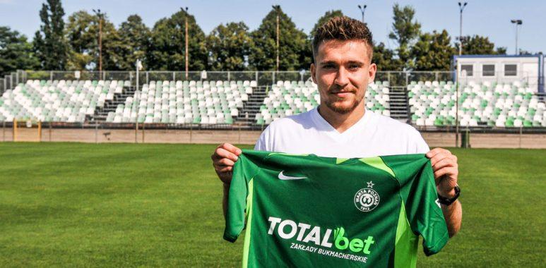 Mateusz Czyżycki piłkarzem Warty Poznań
