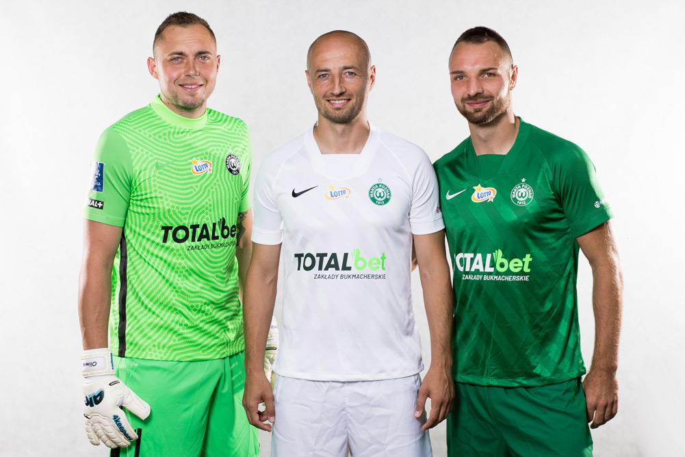 Nike Dri-FIT Challenge III - nowe koszulki piłkarzy Warty Poznań na sezon 2020/21 PKO Ekstraklasy. Bartosz Kieliba, Łukasz Trałka, Adrian Lis