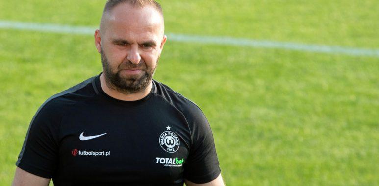 Warta Poznań - Piast Gliwice 0:0. Trener Piotr Tworek